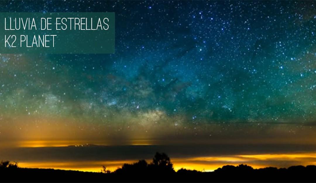 Lluvia de estrellas del cometa Halley