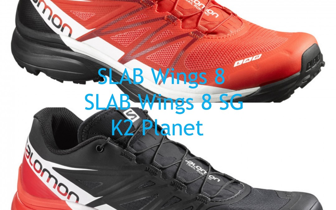 SLAB Wings 8 y SLAB Wings 8 SG