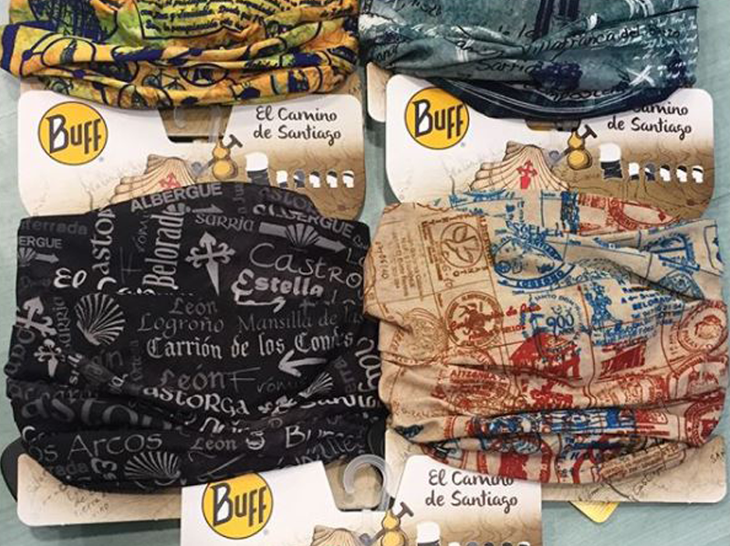 Elige tu Buff para El Camino de Santiago