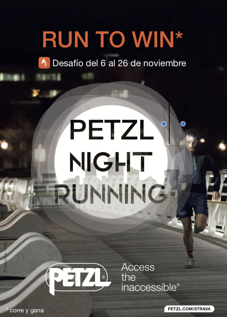 Petzl Night Running
