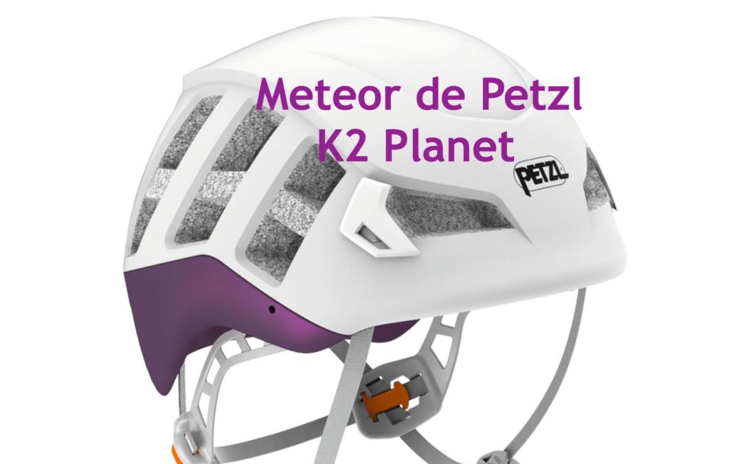 Meteor, Nuevo casco de Petzl