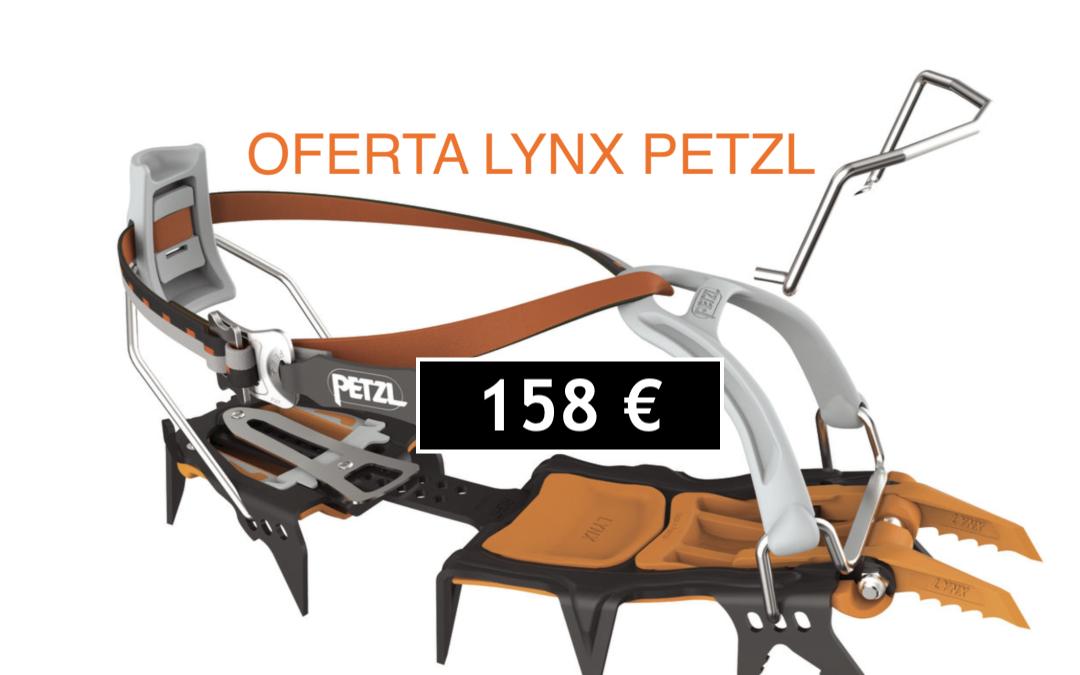 Oferta Crampones  Petzl Lynx