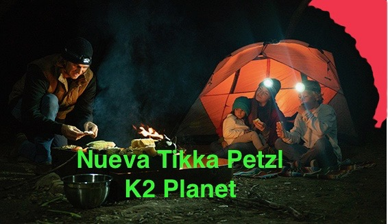 Nueva Tikka Petzl
