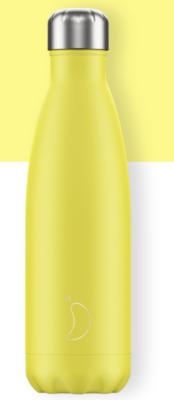 Chilly´s Bottles Neón Amarillo K2 Planet