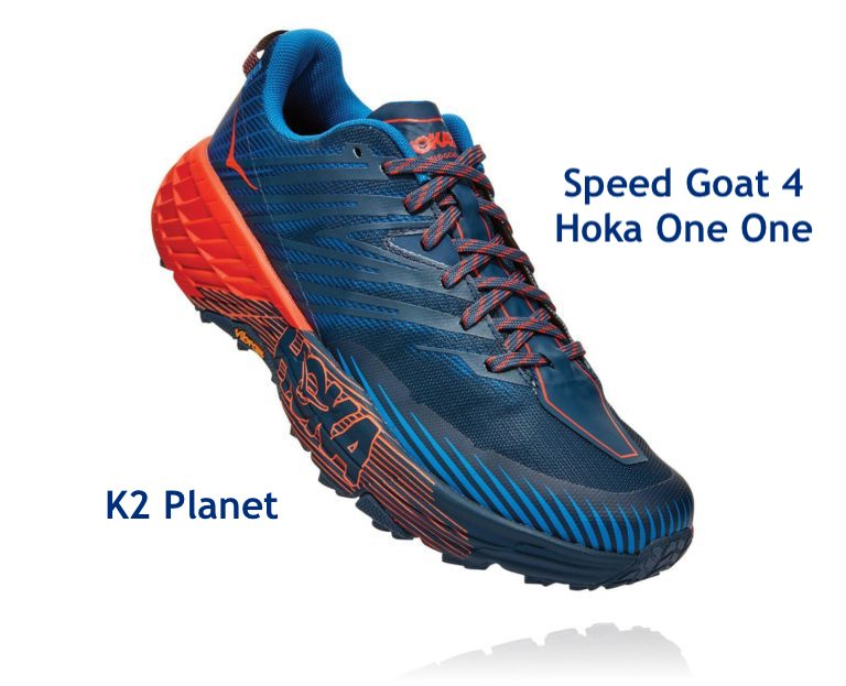 Speed Goat 4 Hoka One One en K2 Planet