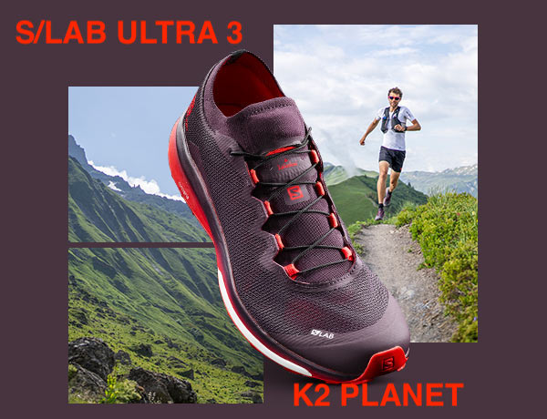 Salomon S/LAB Ultra 3 en K2 Planet