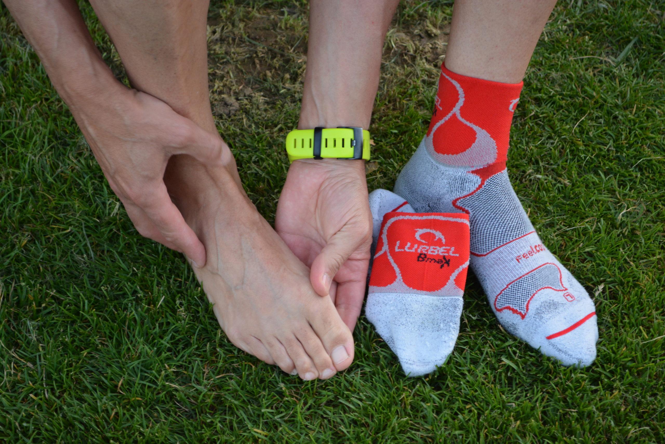 Cuidar los pies en grandes caminatas